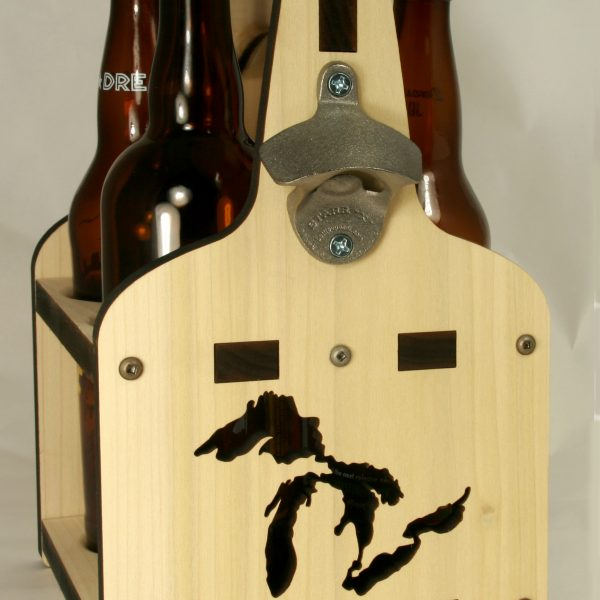 Great Lakes Design | Growler Caddy