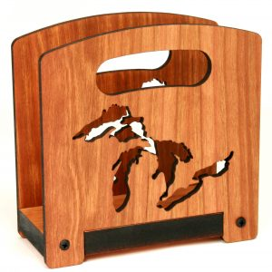 Great Lakes Design | Cherry Napkin Holder