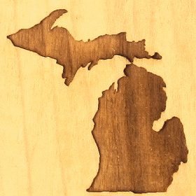 Michigan Design | Engraved