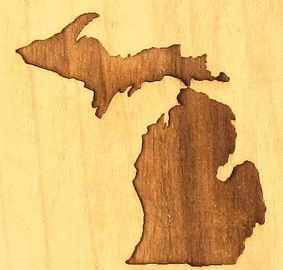 Michigan Design | Engraved