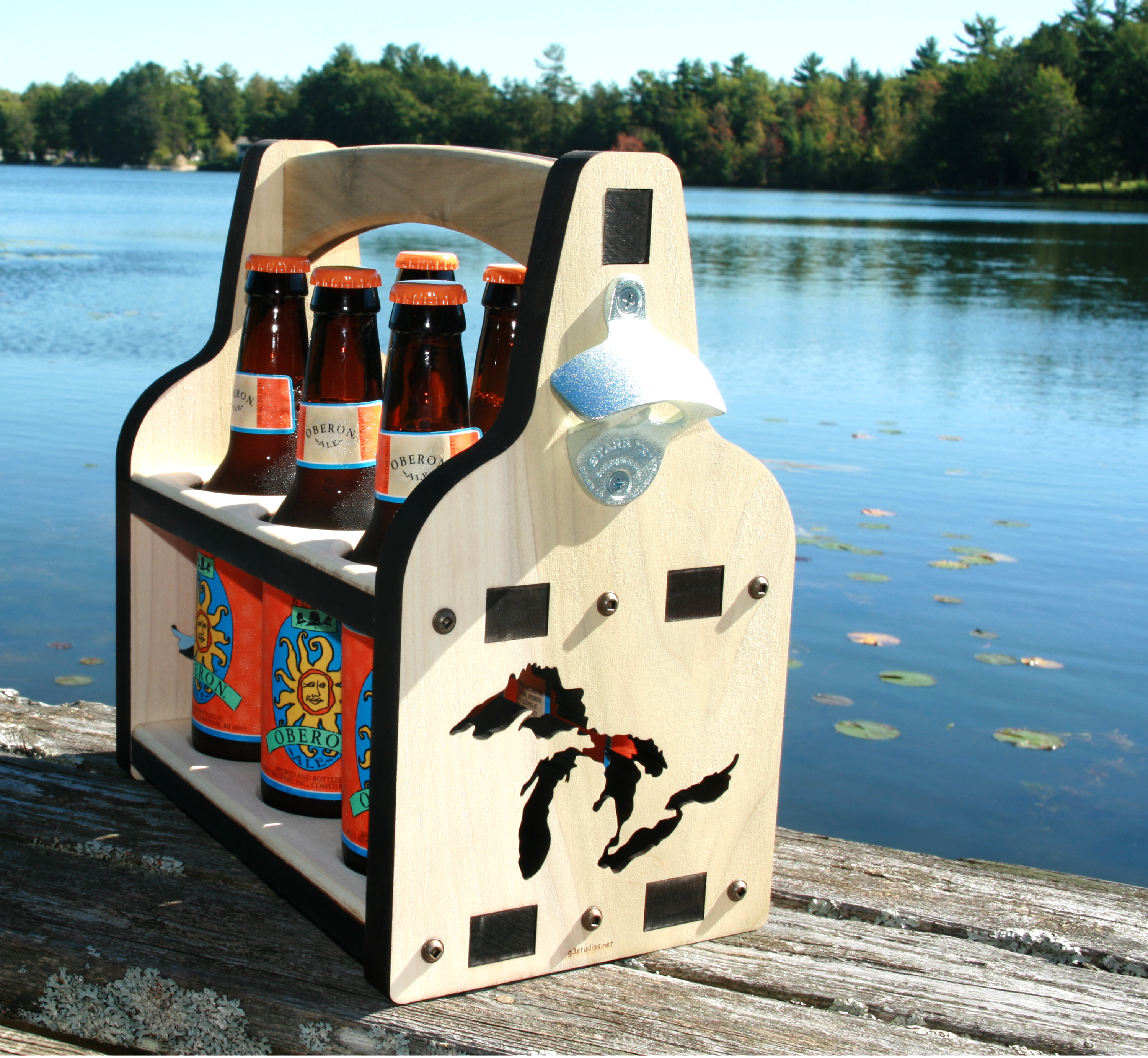 Wooden_Beer_Caddy, Beer Caddy