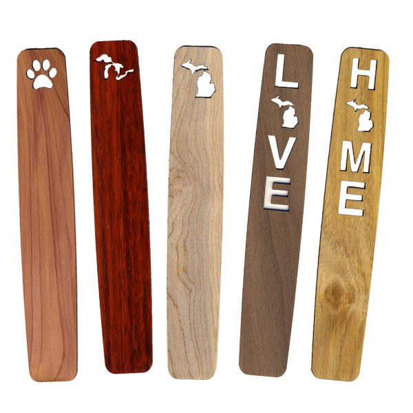 Wooden Bookmarks - Michigan Gifts - Small favors