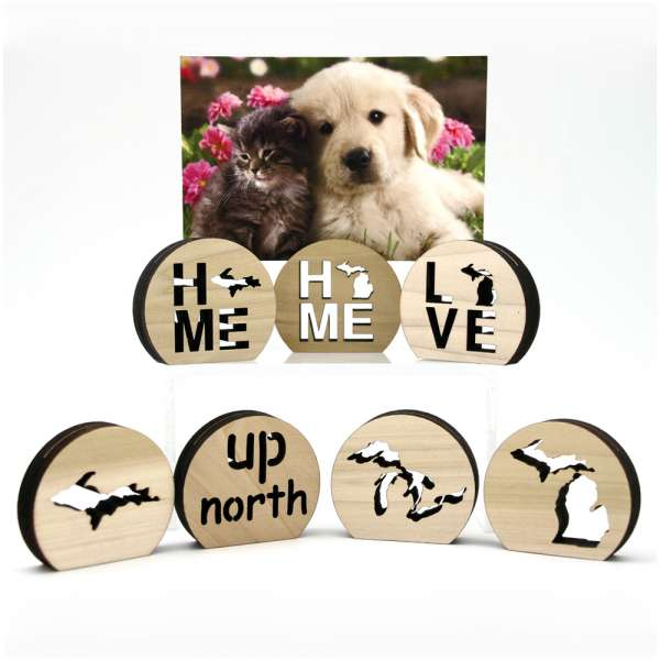 Photo Holders, table placement card - Michigan
