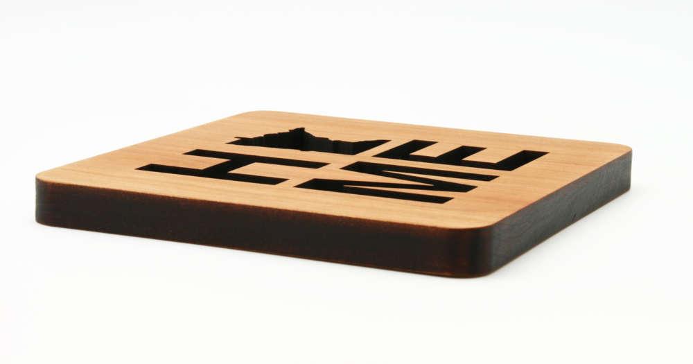 Trivet for Hot Dishes Laser Cut Laser Engraved Trivets for Table Wood Trivet