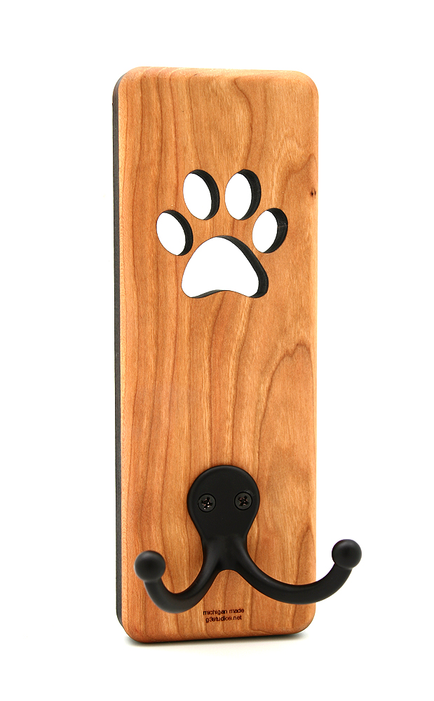 Pet Gift Dog Accessories Wooden Leash Holder Dog Leash Holder Picture Dog Lover Gift Pet Leash Hanger Dog Home Decor