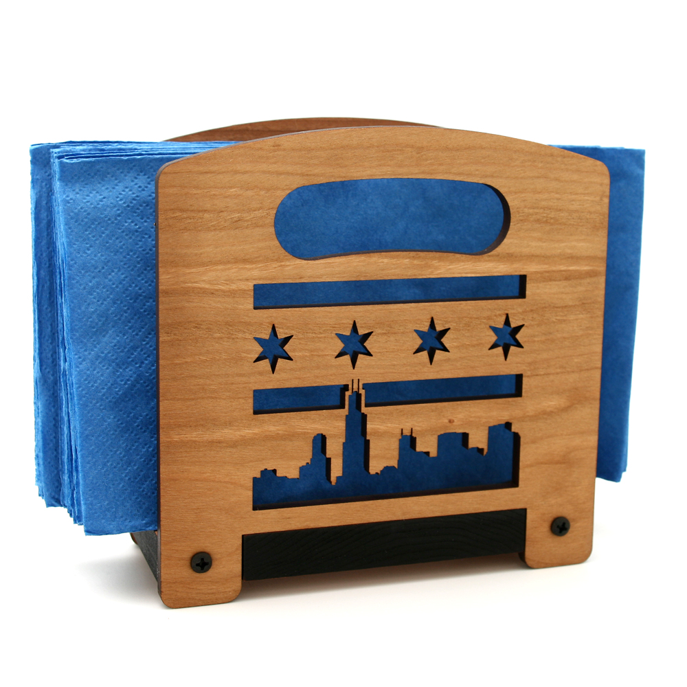 Wooden-Napkin_holder-Chicago